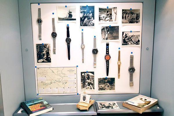 eksponaty na wystawie 60 lat KonTiki
