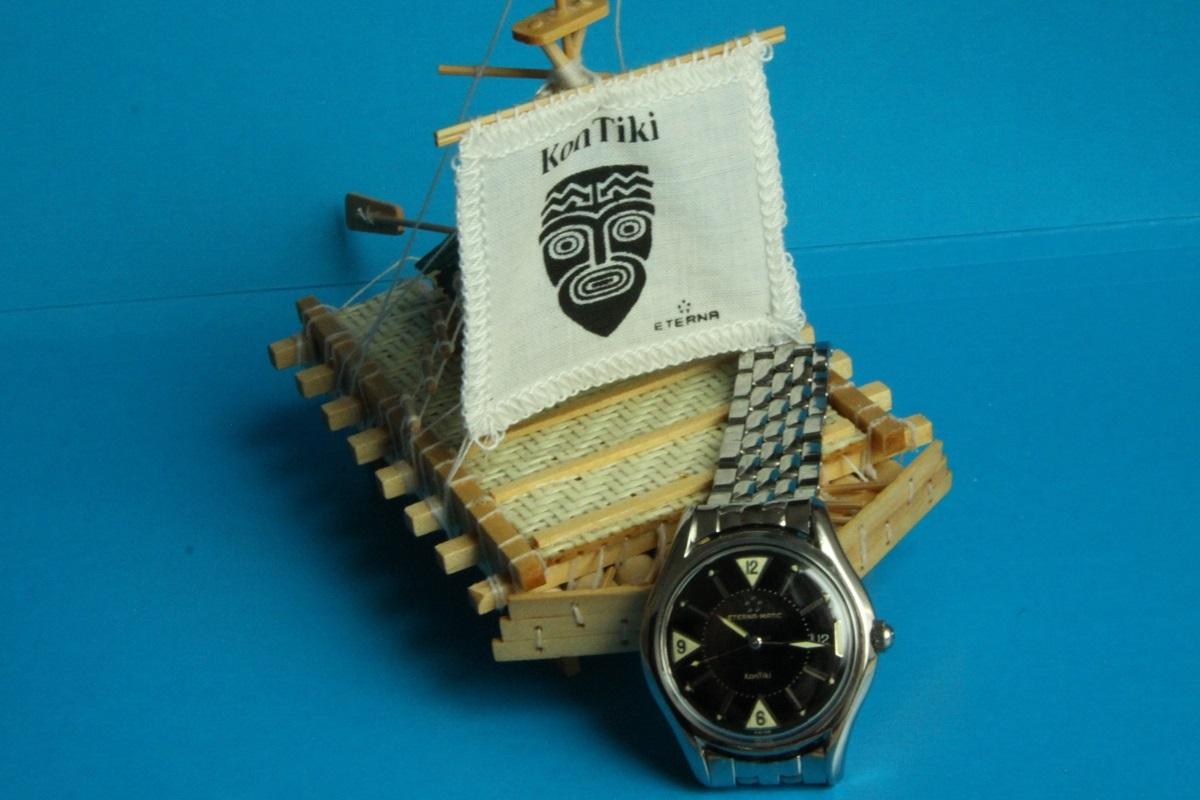 Zegarek męski Eterna Matic, KonTiki, z roku 1959
