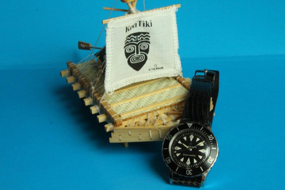 Zegarek męski Eterna Matic, Super KonTiki, z roku 1963