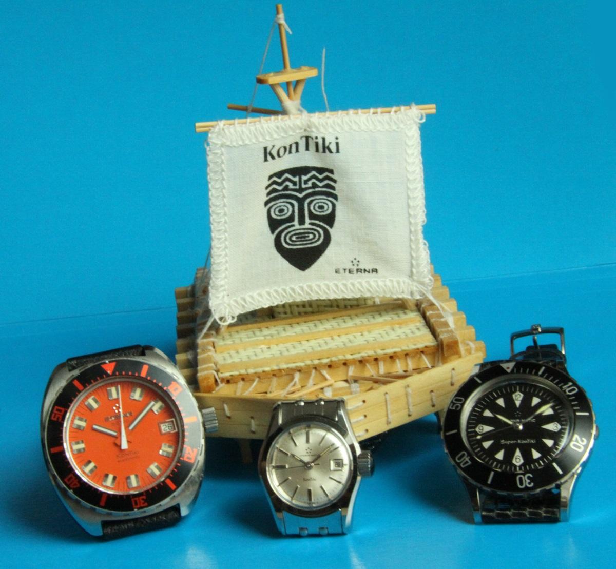 wystawa zegarków Eterna KonTiKi