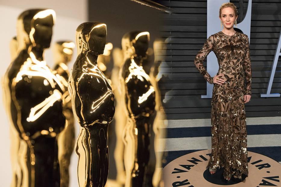 Emily Blunt na Gali Oscary 2018
