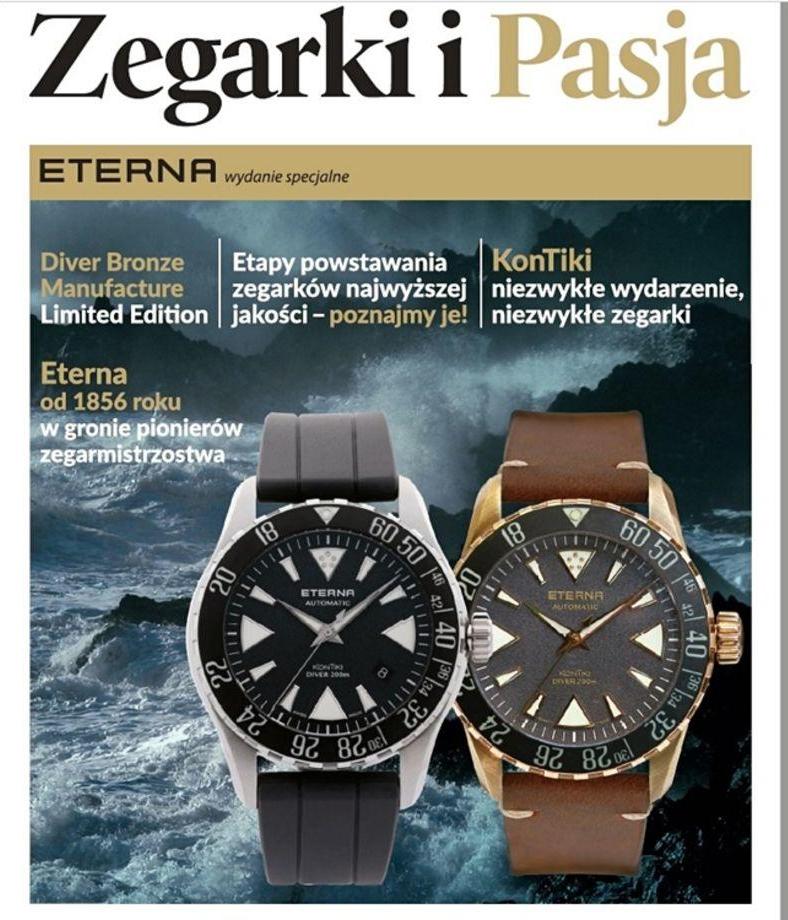 Okładka czasopisma Zegarki i Pasja