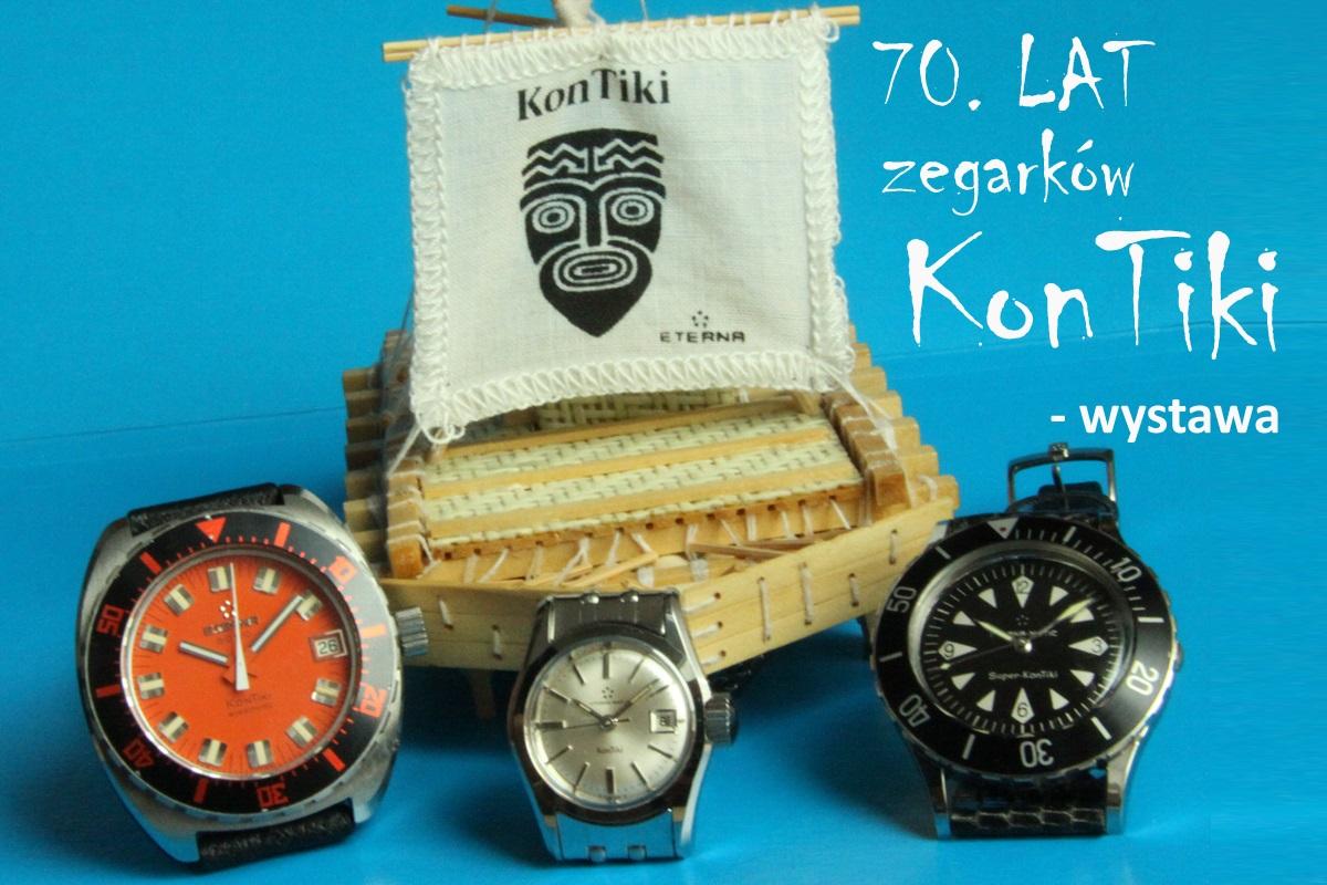70. lat zegarków KonTiki.  Niezwykłe zegarki marki Eterna świadectwem niezwykłego wydarzenia