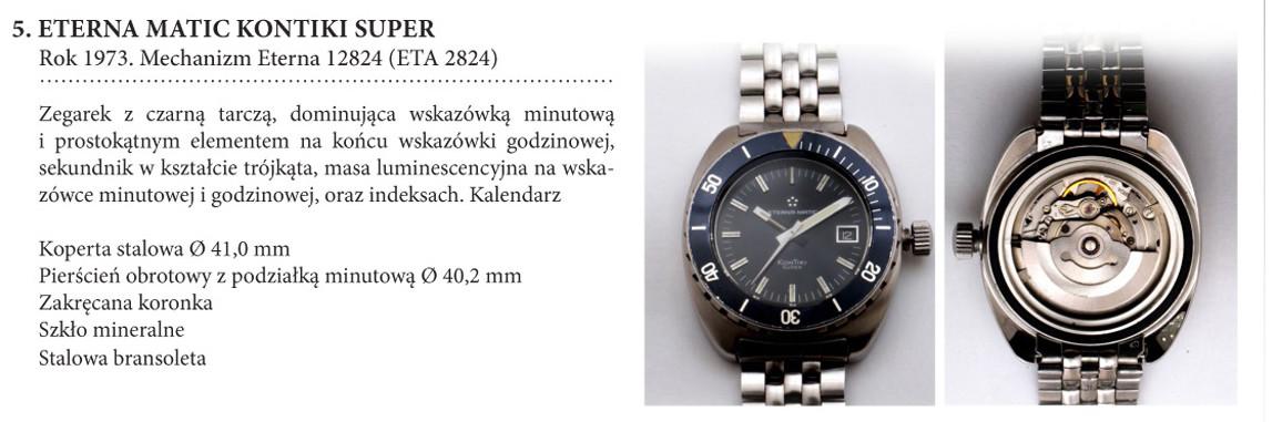 Zegarek Eterna Matic Super KonTiki 12824 na wystawie w salonie odCzasu doCzasu