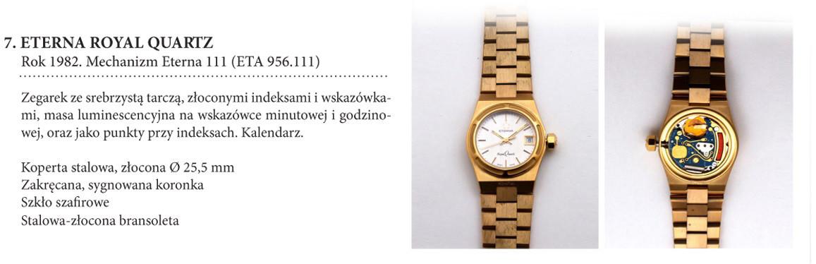 Zegarek damski Eterna Royal Quartz na wystawie w salonie odCzasu doCzasu