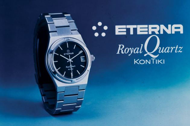 Zegarek Eterna Royal Quartz na wystawie w salonie odCzasu doCzasu