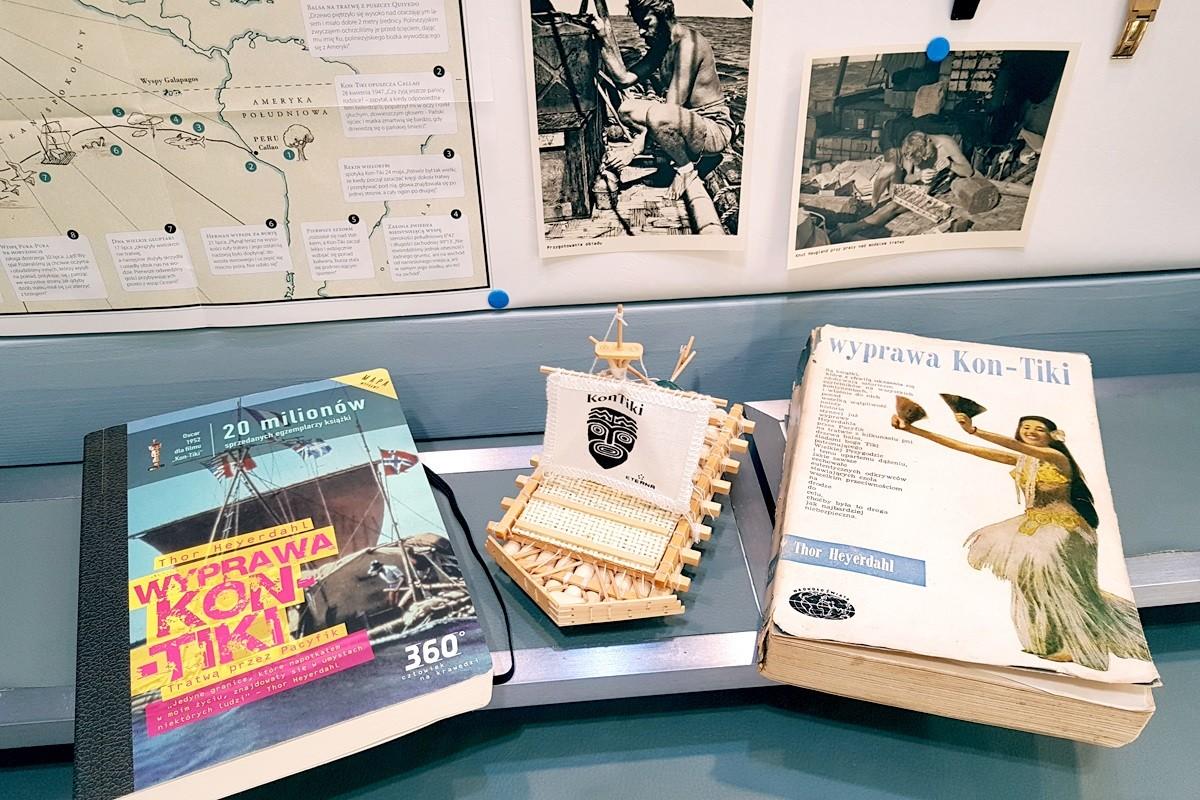 Książki o wyprawie Kon-Tiki