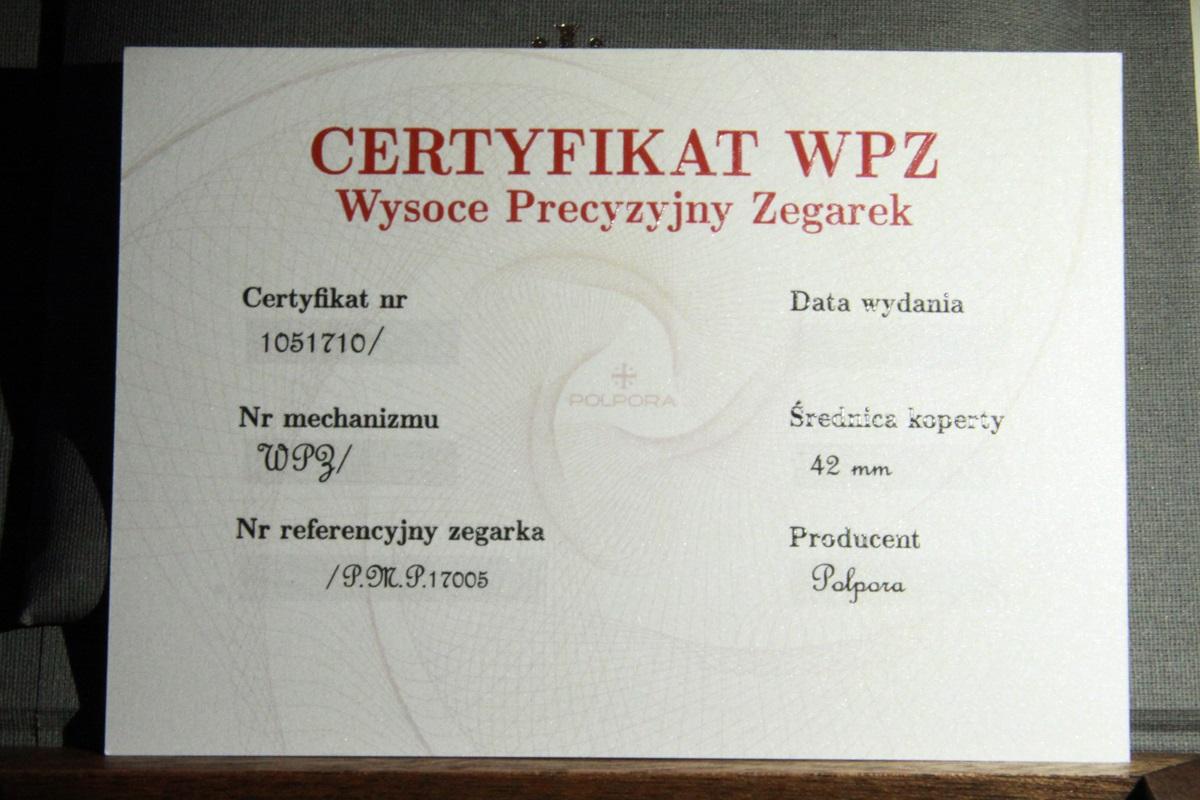 Premiera zegarka Polon firmy Polpora