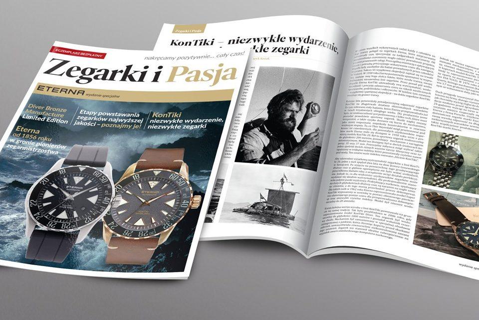 Specjalne wydanie czasopisma Zegarki i Pasja