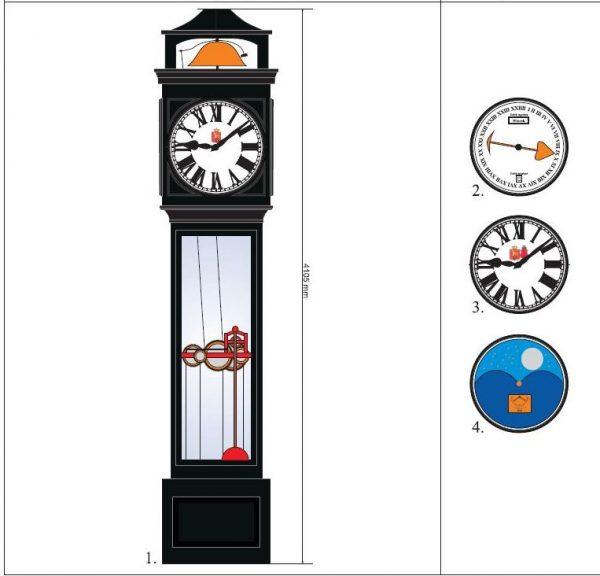 Zegar na Sadybie