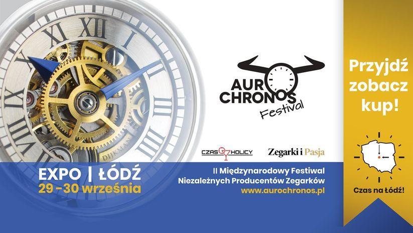 plakat reklamujący Aurochronos 2018