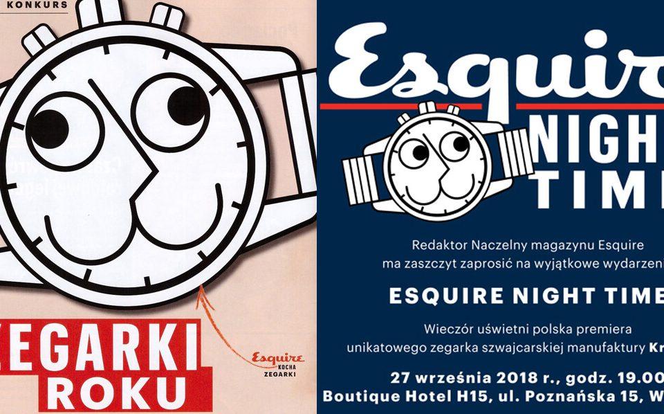 Zegarki Roku magazynu Esquire