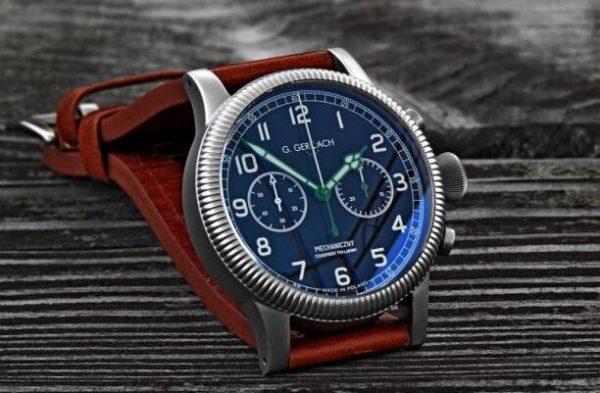 Karaś. Zegarek marki G.Gerlach