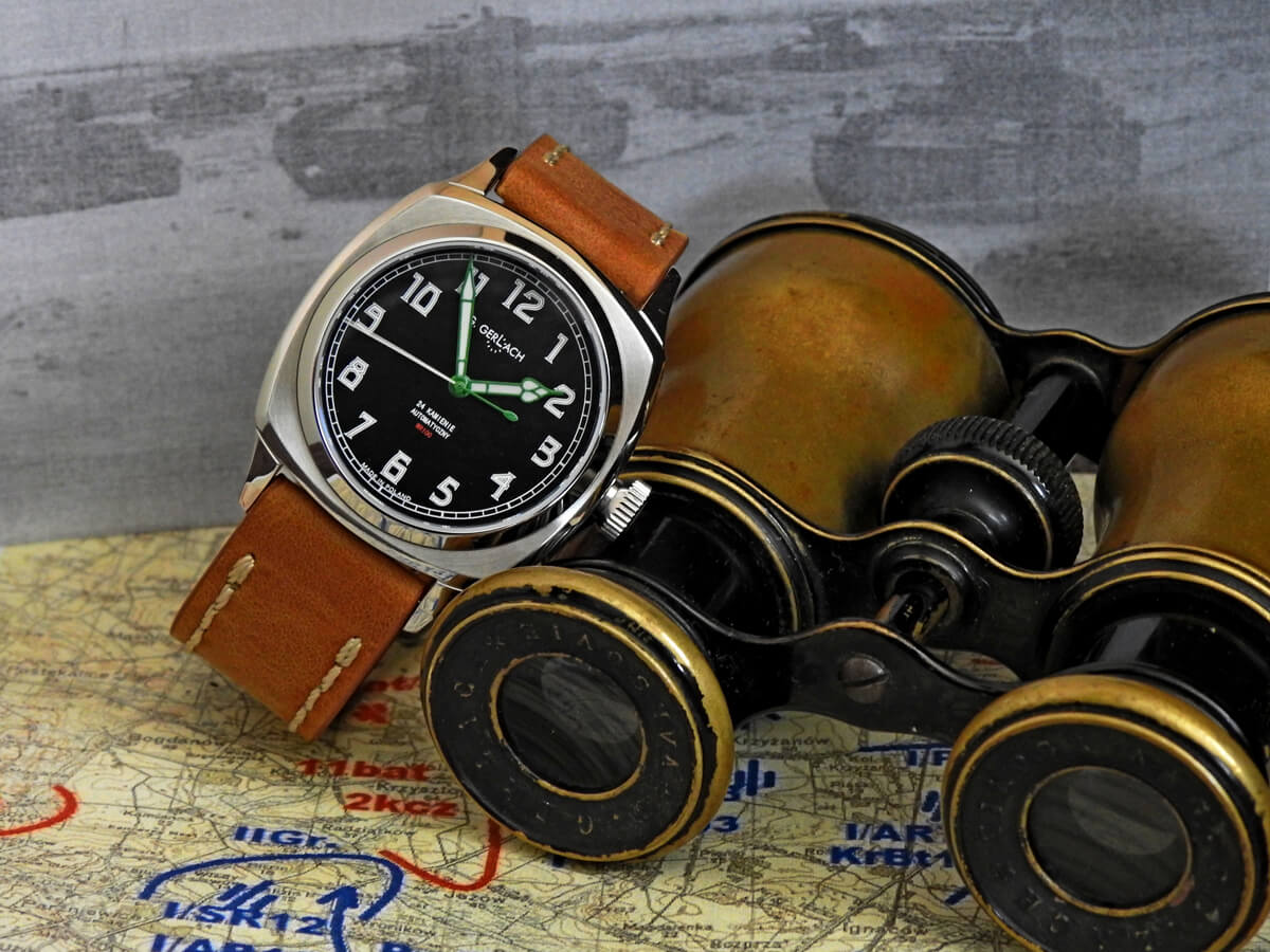 Czołg. Zegarek marki G.Gerlach