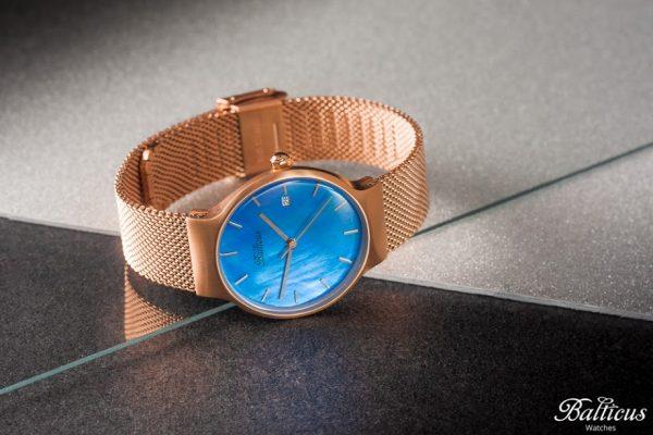 Zegarek złocony marki Balticus