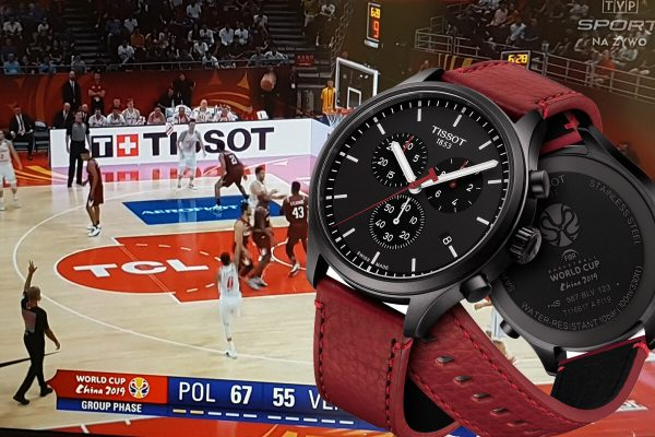Tissot Chronometrażystą Mistrzostw Świata wKoszykówce 2019
