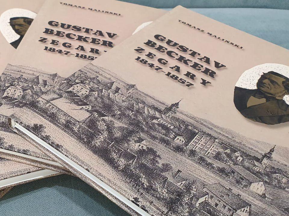 Książka o zegarach. Gustav Becker. Zegary 1847 – 1857