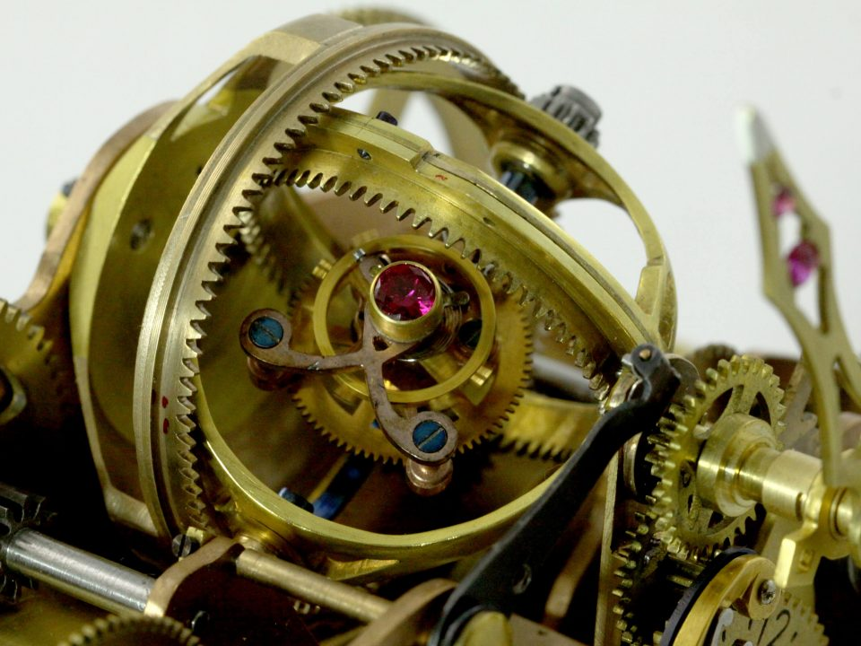 Zegar gabinetowy Karola Romana