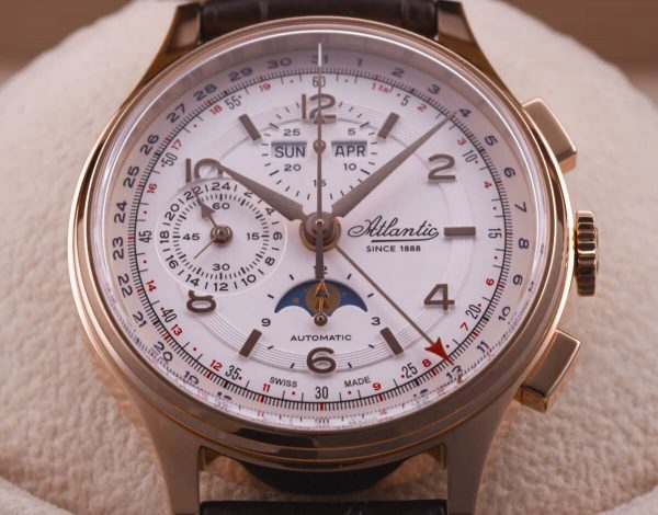 Atlantic Moonphase Automatic Chronograph
