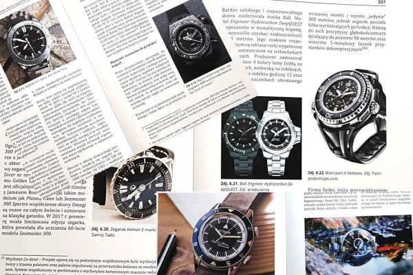 """Czas dla nurków, czyli: """"Czas na głębokości"""". - recenzja książki Mateusza Piechnika"""