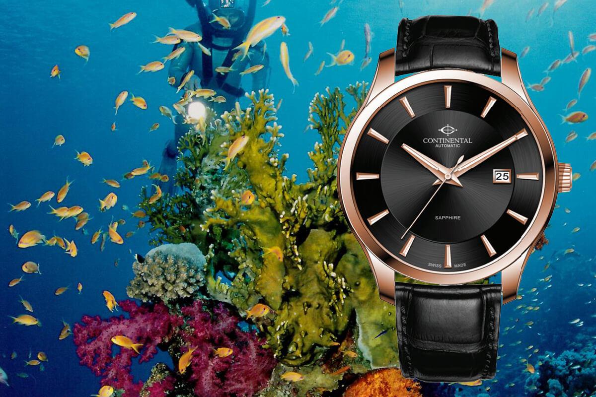 Zegarek garniturowy, a wodoszczelniśc zegarków