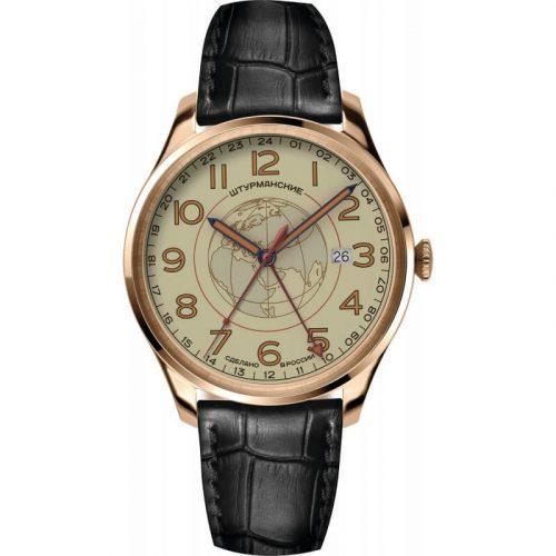 zegarek rosyjski szturmanskie Sputnik GMT na pasku