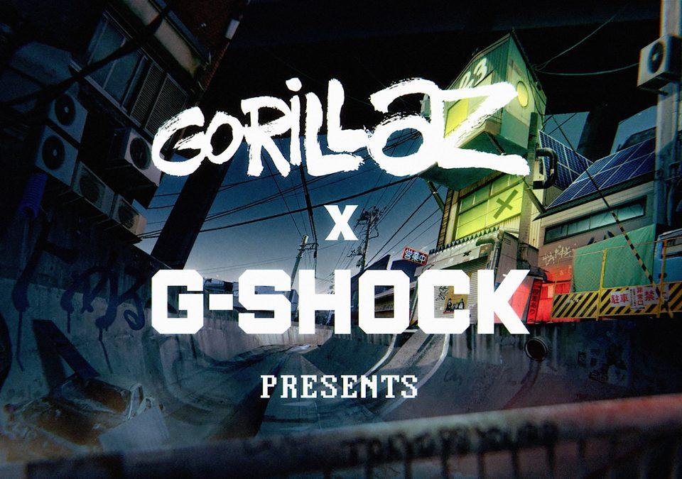 Zegarki ze wspólnej kolekcji G-SHOCK i GORILLAZ