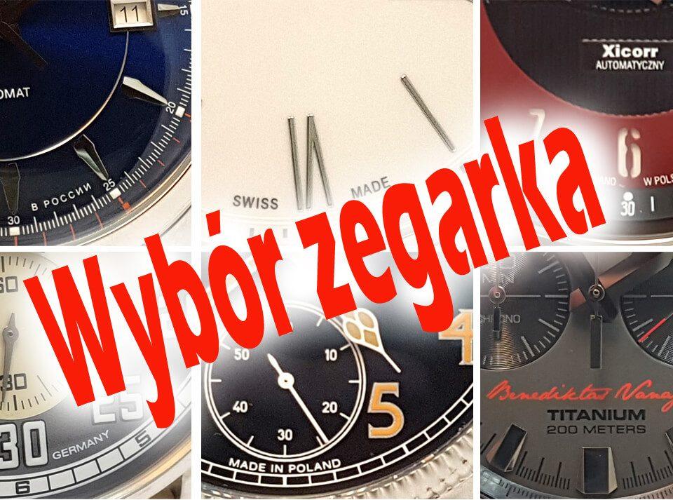 Wybór zegarka. Narodowość marki zegarkowej