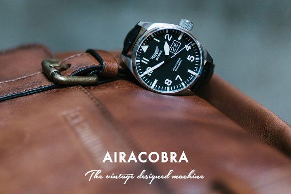 Airacobra - zegarki Aviator Swiss Made