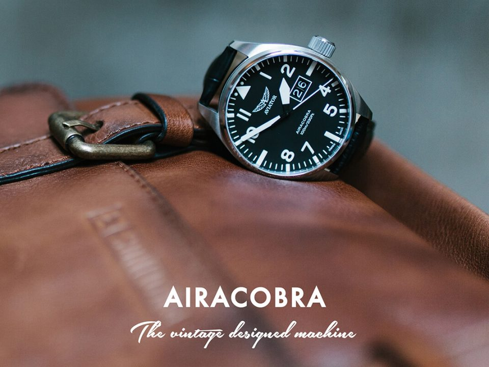 Airacobra - zegarki Aviator Swiss Made