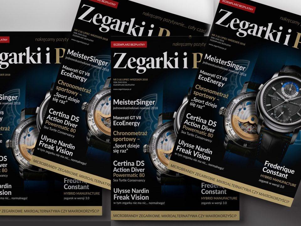 magazyn Zegarki i Pasja - nowe wydanie
