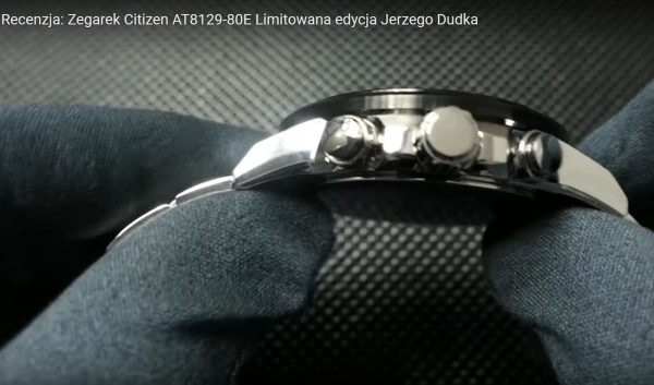 Citizen, model: AT8129-80E Limitowana edycja Jerzy Dudek