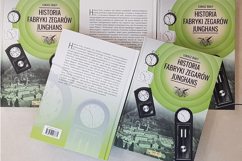 """""""Historia fabryki zegarów Junghans"""" – książka"""