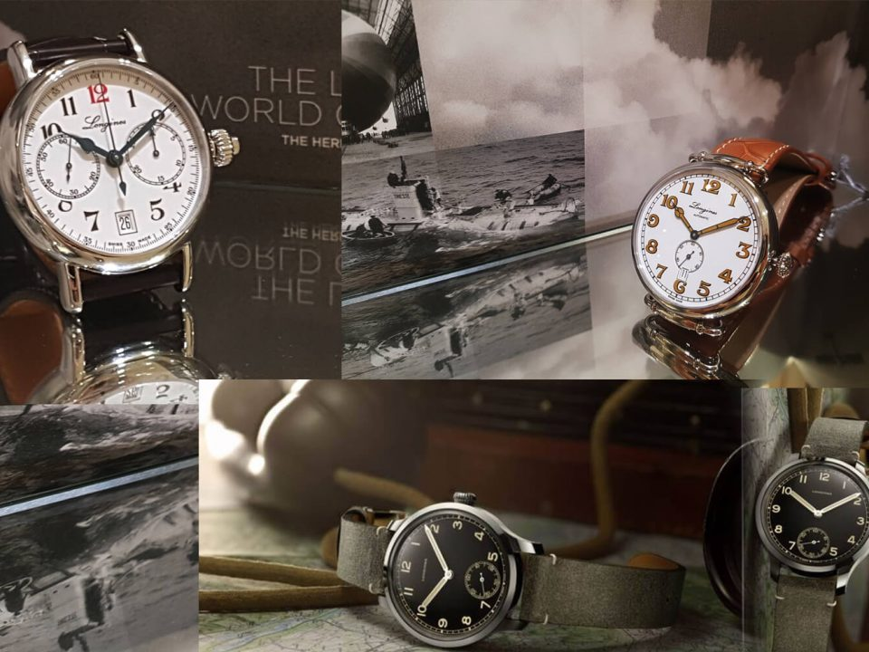 Zegarki w stylu vintage firmy Longines