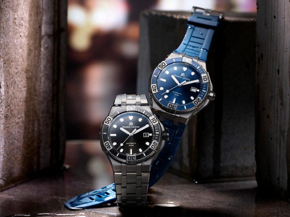 Sportowy męski zegarek. Maurice Lacroix model Aikon Venturer