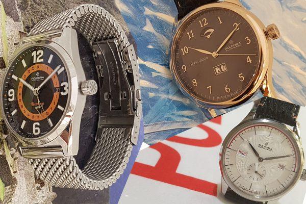 Nowe modele zegarków Polpora