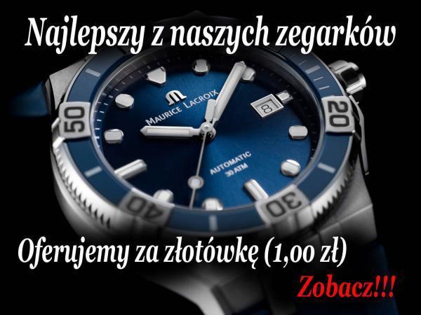 zegarek za złotówkę