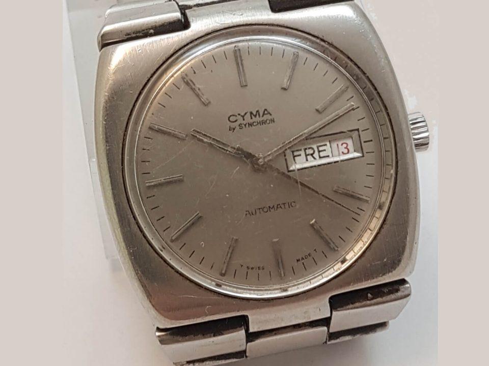 Zegarek Cyma by Synchron w naszym serwisie