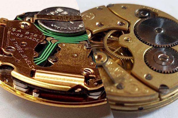 Zegark mechaniczny vs elektroniczny