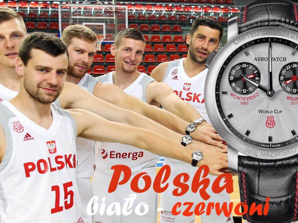 Reprezentacja Polski w koszykówce i zegarki Aerowatch