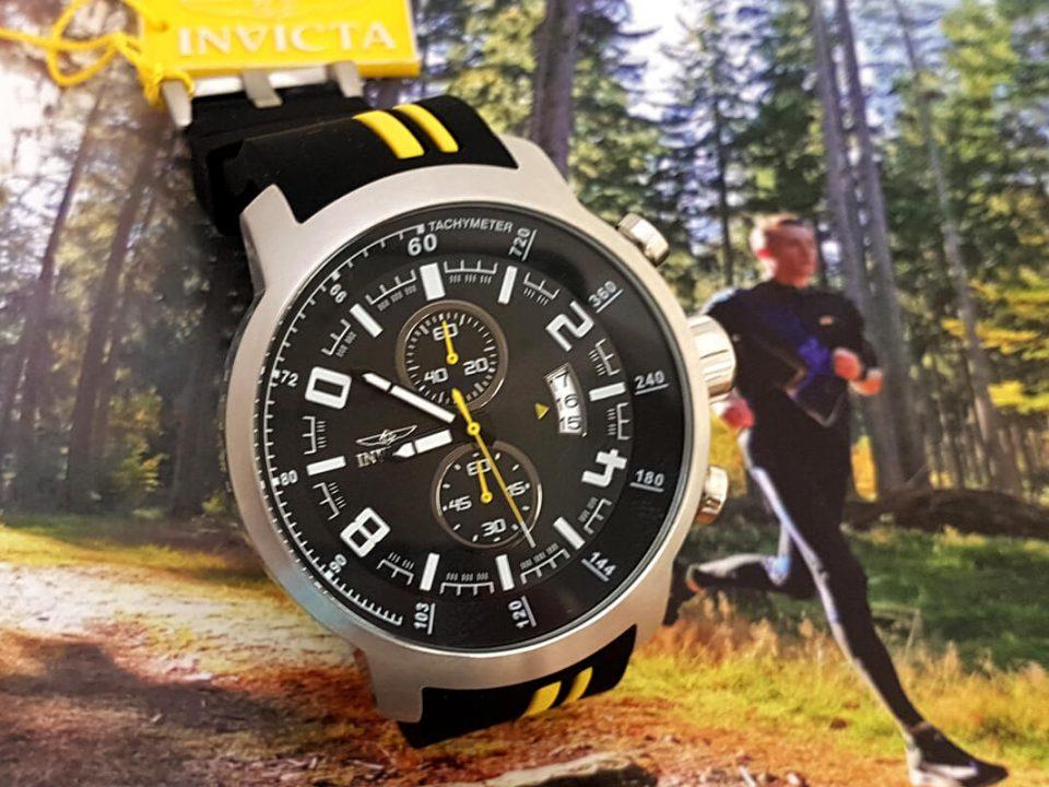 Sportowy zegarek Invicta na rajdzie Harpagan 2018