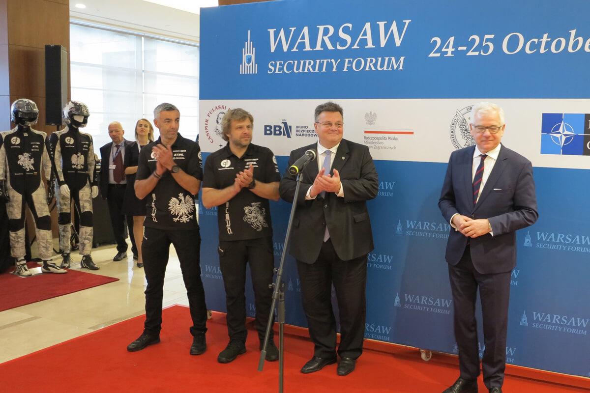 Spotkanie ekipy polsko-litewskiej z ministrami obu krajów