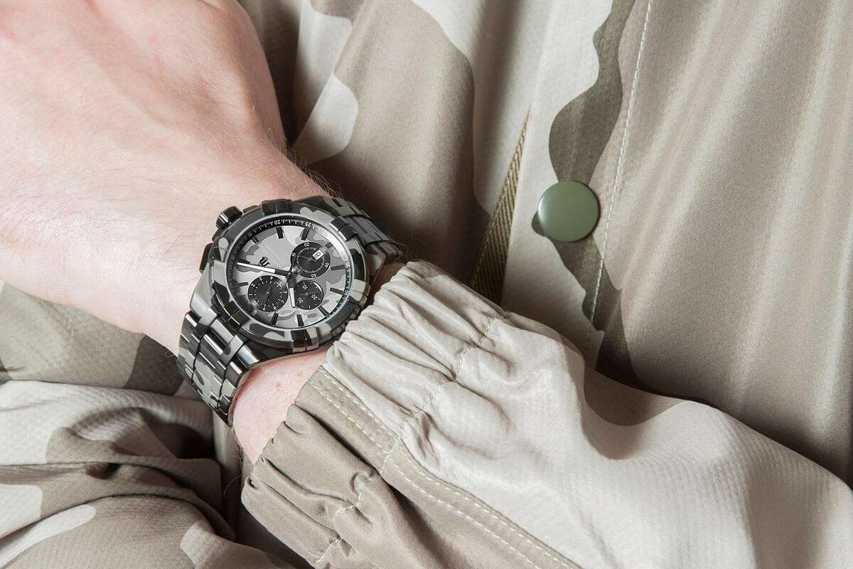 Zegarki militarny Aikon firmy Maurice Lacroix