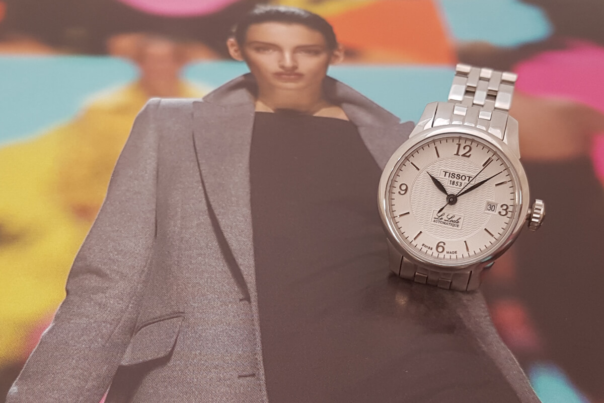 Elegancki zegarek damski Tissot