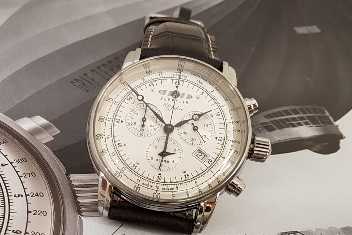 niemiecka marka zegarków Zeppelin