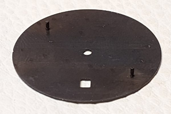 zegarek mocowanie tarczy do mechanizmu