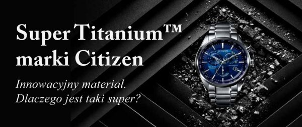 Citizen Super titanium w Zegarki i Pasja