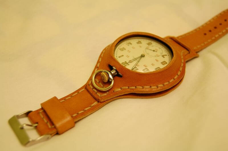 Zegarek kieszonkowy na nadgarstek