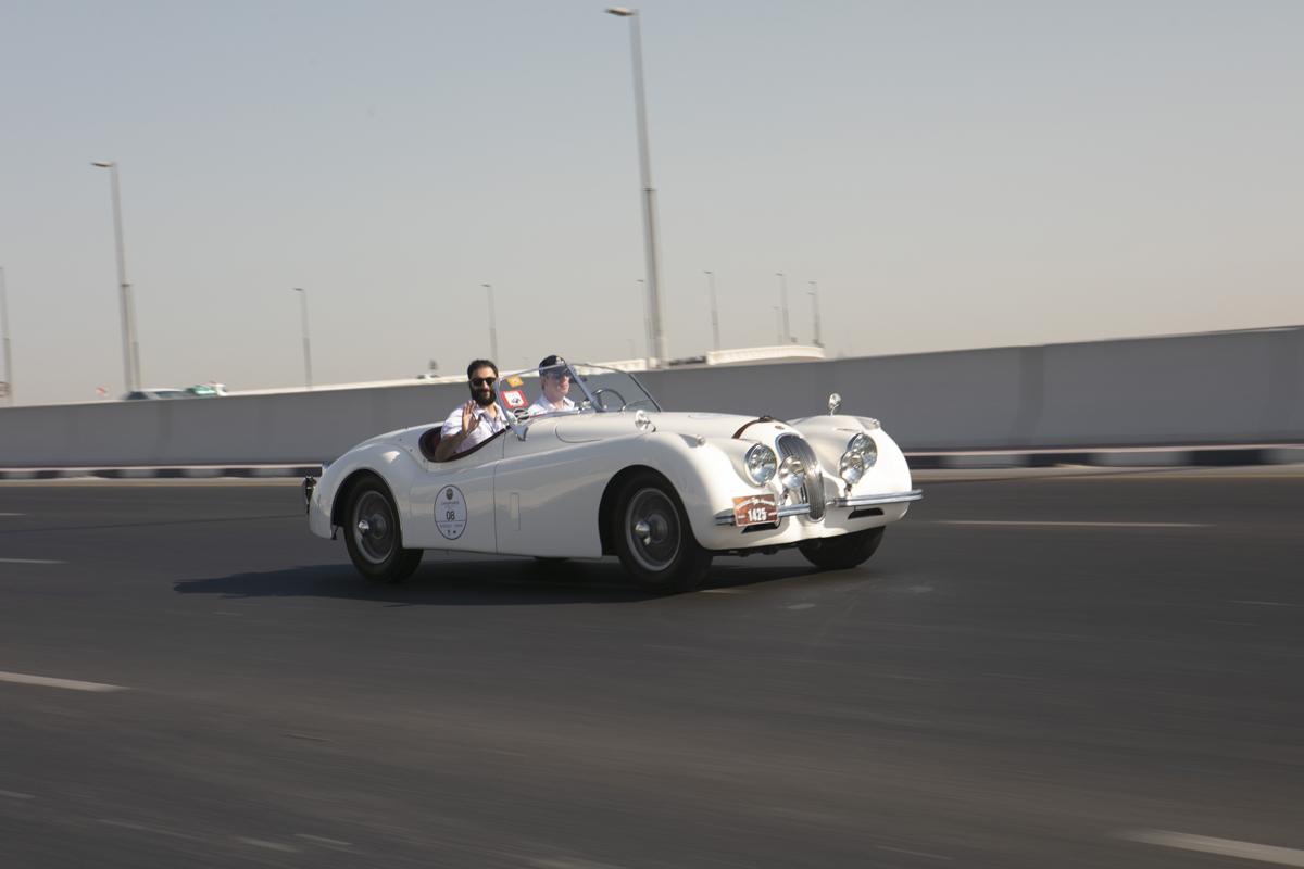 Zegarki Mille Miglia i rajd Chopard Classic Rally Dubai
