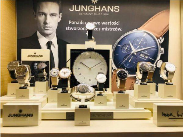 Zegarki Junghans w sklepe